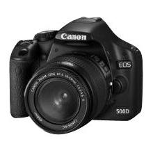 Canon EOS 500D SLR-Digitalkamera Spiegelreflexkamera 15 Megapixel Bild 1