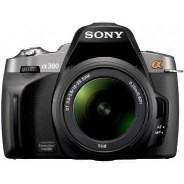 sony dslr a380l slr digital spiegelreflex 14 megapixel test. Black Bedroom Furniture Sets. Home Design Ideas