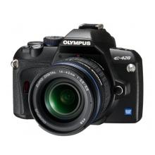 Olympus E-420 SLR-Digitalkamera Spiegelreflexkamera 10 Megapixel Bild 1