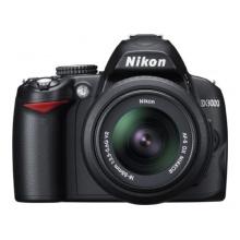 Nikon D3000 SLR-Digitalkamera Spiegelreflexkamera 10 Megapixel Bild 1