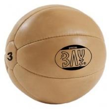 BAY LEDER PU 3 Kilo Medizinball Bild 1