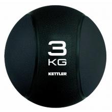 Kettler Medizin Ball, Schwarz, 3 kg Bild 1