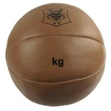 Medizinball aus Leder von DerShogun, 2 kg Bild 1