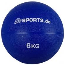 Medizinball blau 6 kg von ScSPORTS Bild 1