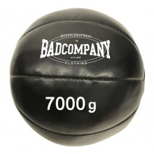Professioneller Kunstleder Medizinball 7Kg von Bad Company Bild 1