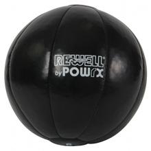 Profi Medizinball Kunstleder Gewicht 5 kg von POWRX Bild 1