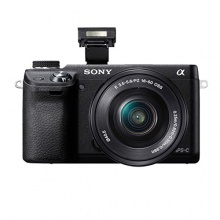 Sony NEX-6LB Kompakte Systemkamera 16,1 Megapixel Bild 1