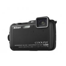 Nikon Coolpix AW120 Outdoor Kamera Digitalkamera schwarz Bild 1