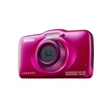 Nikon Coolpix S32 Outdoor Kamera pink Bild 1