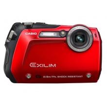 Casio Exilim EX-G1 Outdoor Kamera stoßfest rot Bild 1