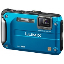 Panasonic Lumix Tough DMC-FT3EG-A Outdoor Kamera blau Bild 1