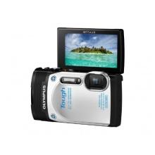 Olympus TG-850 Outdoor Kamera mit 21mm Weitwinkelobjektiv weiß Bild 1