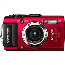 OLYMPUS Stylus Tough TG-3 Outdoor Kamera rot Bild 1