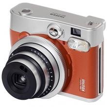 Fujifilm Instax MINI 90 Neo Sofortbildkamera Classic Braun Bild 1