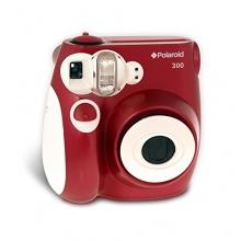 Polaroid 300 Sofortbildkamera rot Bild 1