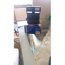 Polaroid 636 schwarz blau Sofortbildkamera Bild 1
