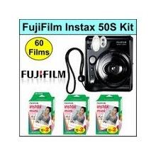 Fujifilm Instax 50s Sofortbildkamera inklusive 3 Filme Bild 1