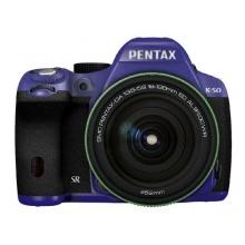 RICOH digitale Spiegelreflexkamera PENTAX K-50 DA18-135mmWR SCHWARZ 082 11470 Bild 1