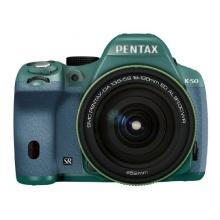 RICOH digitale Spiegelreflexkamera PENTAX K-50 DA18-135mmWR AQUA 091 11479 Bild 1