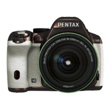 RICOH digitale SLR PENTAX K-50 DA18-135mmWR Spiegelreflexkamera WEIß 113 11501 Bild 1