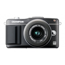 Olympus PEN E-PM2 Systemkamera schwarz Bild 1