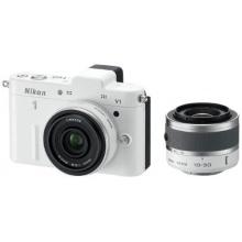 Nikon 1 V1 Systemkamera weiß Bild 1