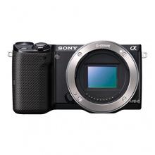 Sony NEX-5 Kompakte Systemkamera schwarz Bild 1