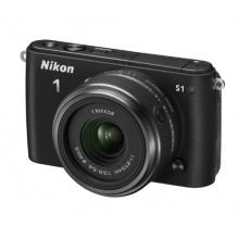 Nikon 1 S1 Systemkamera schwarz Bild 1
