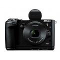 Nikon 1 V3 Systemkamera 18 Megapixel mit 10-30mm Objektiv Bild 1