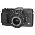 Olympus E-P5 Systemkamera mit 14-42 mm Objektiv schwarz Bild 1