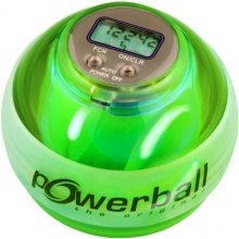 Kernpower Powerball the original® Max, mit digitalem Drehzahlmesser plus Licht grün (green) Bild 1
