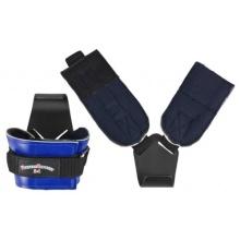 1 Paar Zughilfen Klimmzughaken Latzughilfen Leder Griffhilfen Fitnessexpress24 Bild 1