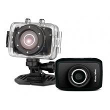 GoXtreme Easypix Race Mini HD Helmkamera mit wasserdichtem Gehäuse schwarz Bild 1