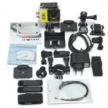 COMET ® SJ4000 gelb wasserdichte Helmkamera Full HD 720p 1080p  Bild 1