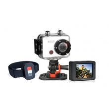 GoXtreme Easypix Power Control Full HD Helmkamera mit wasserdichtem Gehäuse weiß Bild 1