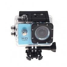 Helmkamera Andoer Mini DV Sport SJ4000 HD 1080P blau Bild 1