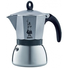 Bialetti: 3 Cup Moka Induction Stove top Espresso Coffee Maker in Anthracite Bild 1