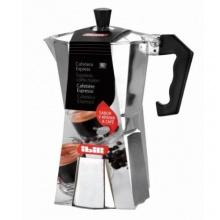 Ibili Bahia Espressokocher, Mokkakocher, 6 Espresso-Tassen Bild 1