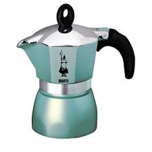 Bialetti Espressokocher Dama Glamour azzura 3 Tassen  Bild 1