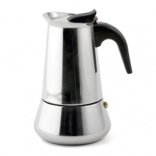 Weis 16976 Espressokocher, Edelstahl 6 Tassen Bild 1