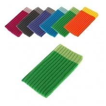 BRALEXX Textil Socke Samsung SM-G850F Galaxy Alpha, Green Bild 1
