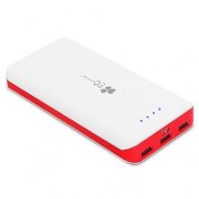 EC Technology® 2.Gen. 22400 mAh  Powerbank Akku Weiß&Rot Bild 1