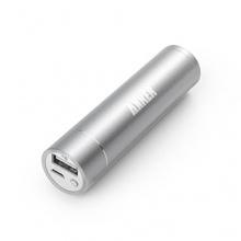 Anker® 2. Gen Astro Mini 3200mAh Ultra-kompakt Mobil Akku PowerBank Silber Bild 1