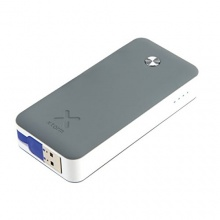 Xtorm Power Bank Air 6000, Anthrazit/Weiß/Blau, XB100 Bild 1
