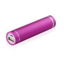 EPCTEK® Powerbank mobiler Akku 2600mAh Ladegerät pink Bild 1