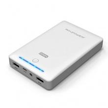 RAVPower® 3. Gen Deluxe 13000mAh 4,5A Akku PowerBank weiß Bild 1
