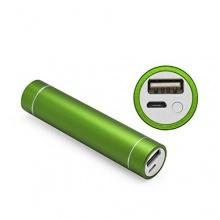 iProtect Mini 2200mAh Power Bank Externer Akku grün Bild 1