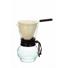 Hario DPW-3 Drip Pot Woodneck, Kaffeebereiter Bild 1