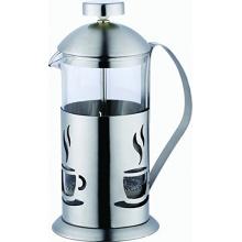 Kaffeezubereiter 0,8L Edelstahl von Bergner Bild 1