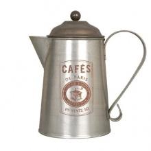 Deko Kaffeekanne Metall vpn Clayre und Eef Bild 1